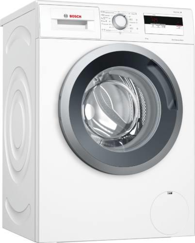 Masina de spalat rufe Bosch Serie 4 WAN28161BY, 7 kg, 1400 rpm, EcoSilence Drive, VarioPerfect, ActiveWater, clasa A+++, alb